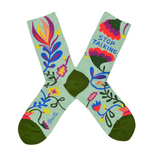 Women's Stop Talking Socks
