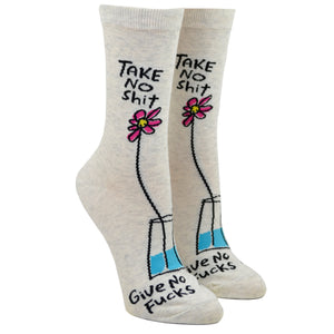 Women's Take No Shit Socks