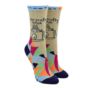 Women's You Crafty Bitch Socks