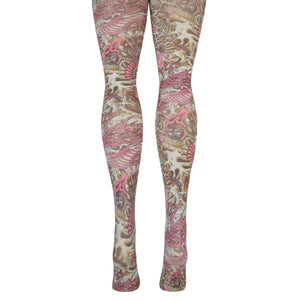 Women's Puff Magic Dragon Tights