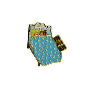 Girls Pajama Party Pin