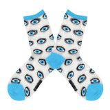 Women's Sheer Eyes Socks