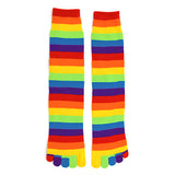 Women's Rainbow Toe Socks