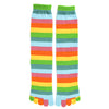 Women's Pastel Rainbow Toe Socks