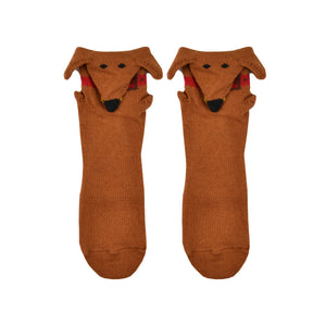 Kid's 3D Dachshund Socks