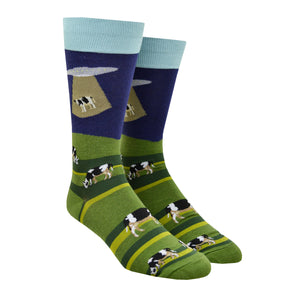 Men's Alien Abduction Socks