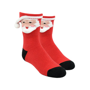 Kid's 3D Santa Socks