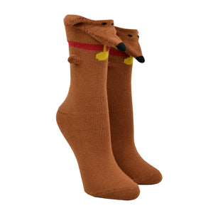 Women's 3D Dachshund Socks