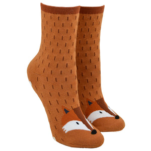 Women's Fox Non-Skid Socks