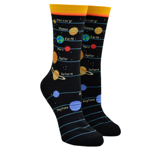 Women's Planets Socks