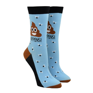 Women's Poop Happens Socks
