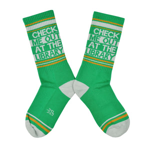 Unisex Check Me Out At The Library Socks