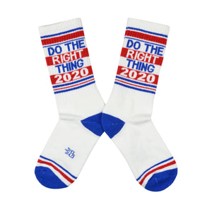 Unisex Do the Right Thing 2020 Socks