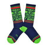 Unisex Friday Is My Second Favorite F Word Socks