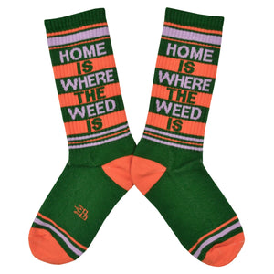 Unisex Home Is Where the Weed Is Socks