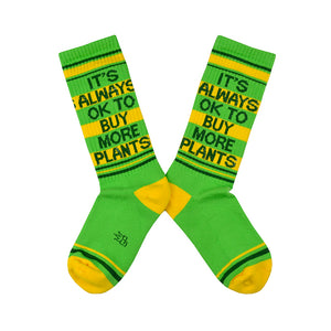 Unisex Buy More Plants Socks