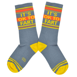 Unisex It's OK To Fart Socks