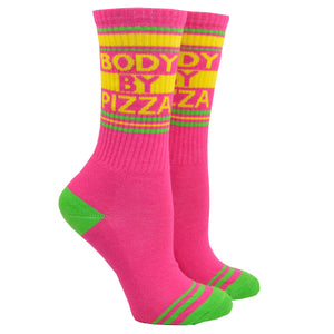 Unisex Body By Pizza Socks