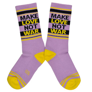 Unisex Make Love Not War Socks