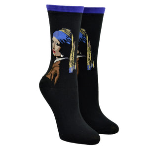Women's Girl With The Pearl Earring Socks
