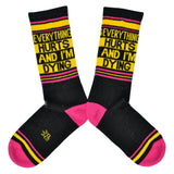 Unisex Everything Hurts Socks