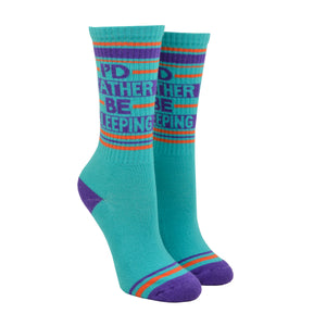 Unisex I'd Rather Be Sleeping Socks