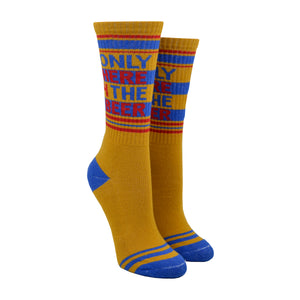 Unisex Only Here 4 The Beer Socks