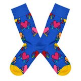 Unisex Keith Heart Socks