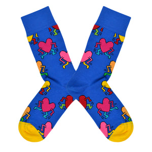 Women's Keith Heart Socks