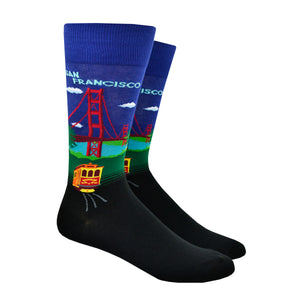 Men's Bridge And Trolley Socks
