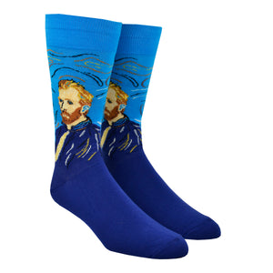 ef7e08617d6 Men s Van Gogh Self Portrait Socks
