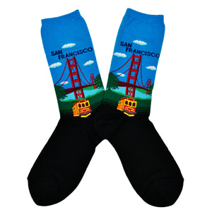 Women's Bridge And Trolley Socks