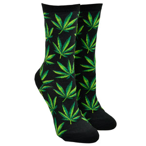 Women's Marijuana Socks