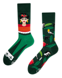 Unisex Mismatched Frida Kahlo Socks