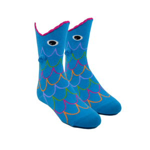 Kid's Wide Mouth Fish Socks