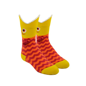Kid's Wide Mouth Piranha Socks