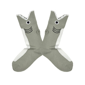 Kid's Wide Mouth Shark Socks