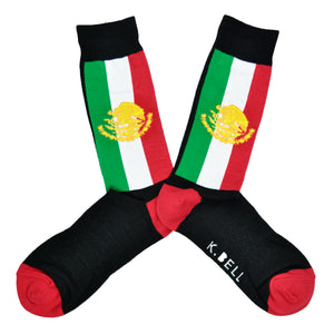 Men's Mexican Flag Socks