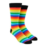 Men's Rainbow Stripes Socks
