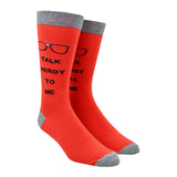 Men's Talk Nerdy To Me Socks
