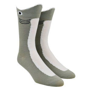 Men's Wide Mouth Shark Socks