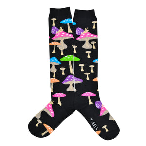 a549e6c7209 Women s Mushrooms Knee High Socks