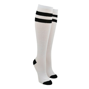 Women's Striped Knee High Socks