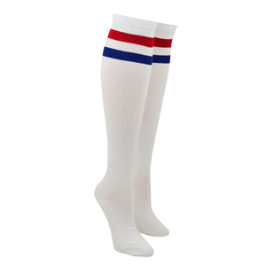 Women's Two Stripe Knee High Socks