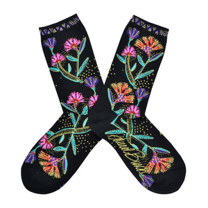 Women's Laurel Burch Wildflower Socks