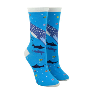 Women's Whale Shark Socks