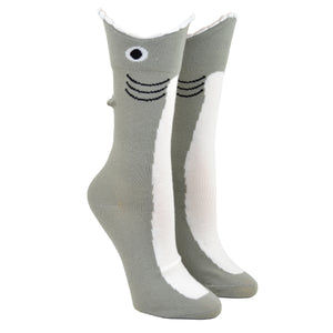 Women's Wide Mouth Shark Socks
