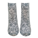 Unisex Out of Orbit Color-In Socks