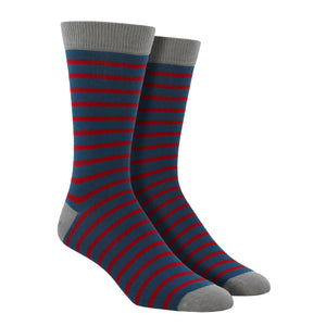 Men's Bamboo Sailor Stripe Socks