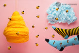 Unisex Bee Bee Socks